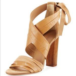 Vince tan Beatrice heel sandals